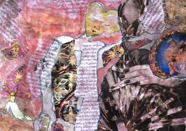 heart-head Sally Swain original artwork