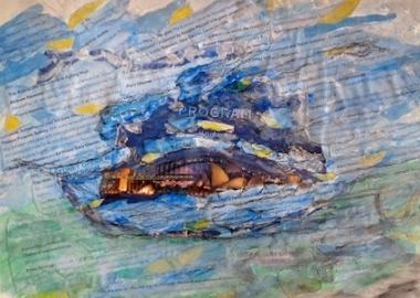Celebrate Creative Ageing Sydney Sally Swain art