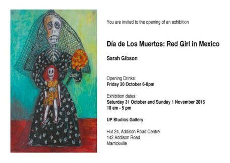 Sarah Gibson exhibition