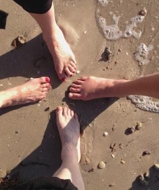 Arts Therapists in the Eco(toe)ne –Amanda Levey, Jo Kelly, Romny Vandoros, Sally Swain