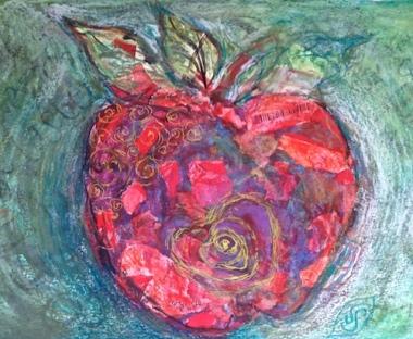Fly to Fruition Sally Swain © original art