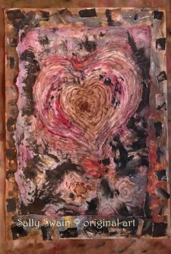 bird heart solstice art