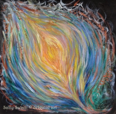 small painting Sally Swain