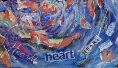 heart art Sally Swain