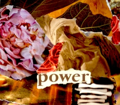 collage power words
