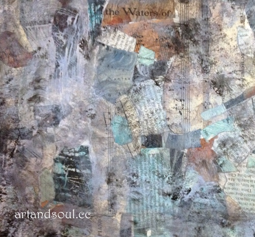Sally Swain paint texture