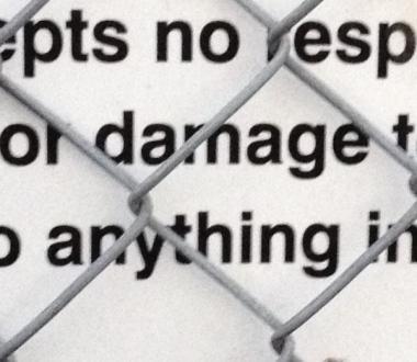damage anything Katoomba sign