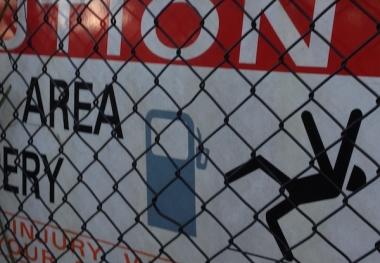 Katoomba sign caution