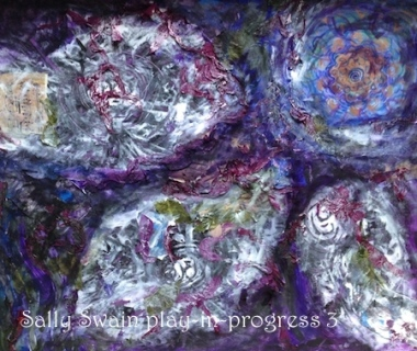 Flower Beyond Edge Sally Swain
