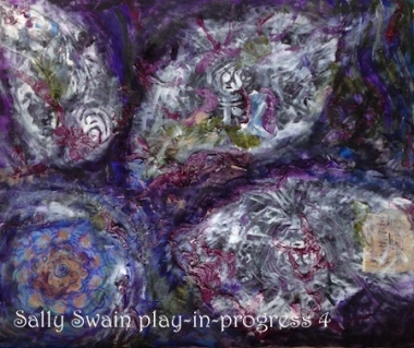 Flower Beyond the Edge Sally Swain play-in-progress 4