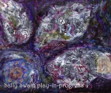 Flower Beyond the Edge Sally Swain play-in-progress 4