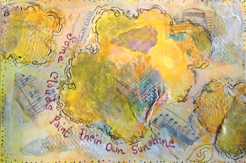 hope postcard art exchange Swain