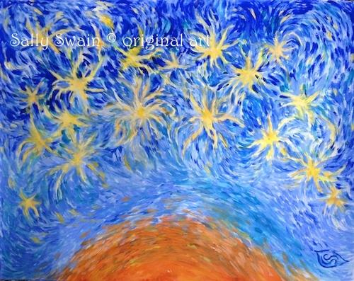 brain cosmos art Swain