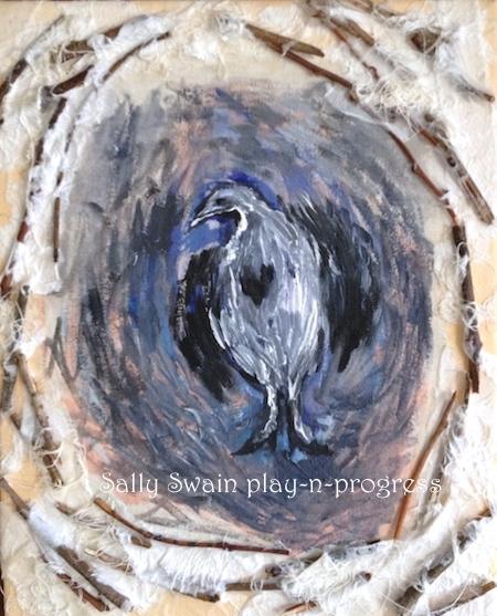 Swain art bird tenderness
