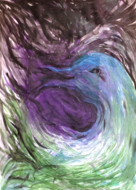 bird painting Swain