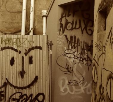 Newtown Sydney graffitti