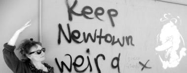 graffitti urban photo weird