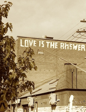 Love is the answer photo