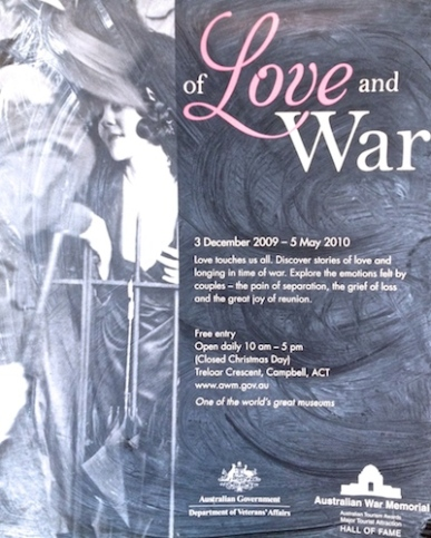Love and War collage