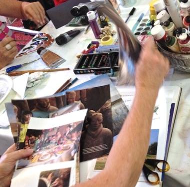 collage playshop workshop Art Soul
