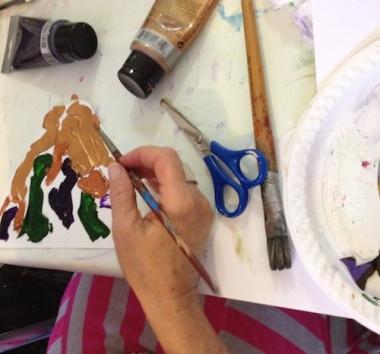 paint brush playshop Art and Soul