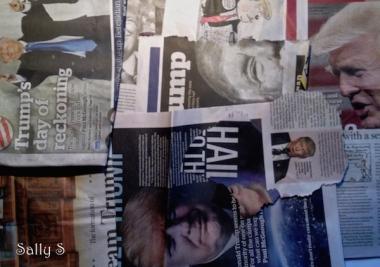 politics US collage transform