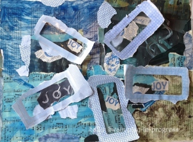 Joy art window envelope
