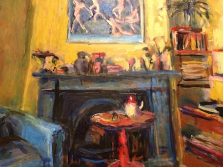 Olley yellow room painting