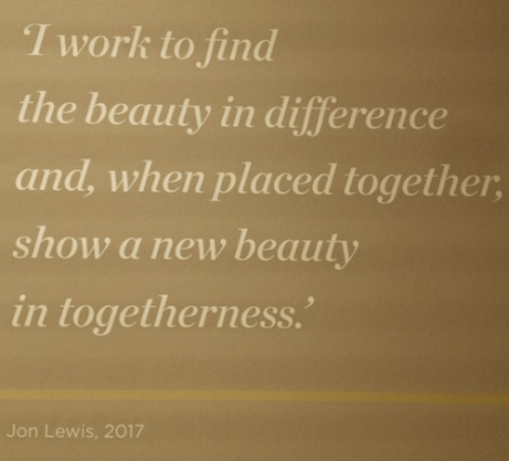 Jon Lewis beauty statement