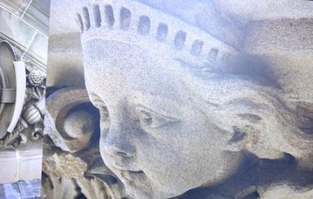 sculpture stone Sydney Hospital