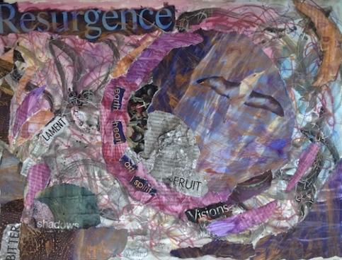 Swain art collage paint
