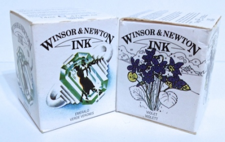 Winsor and Newton ink