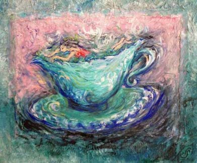 Sally Swain original art painting