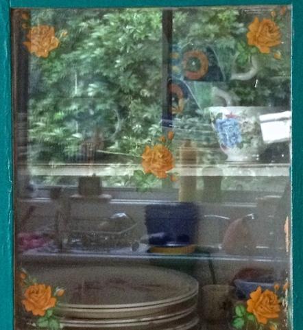 Reflections photo indoor outdoor