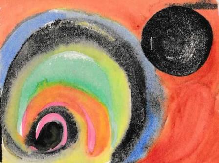circle spiral art McKern
