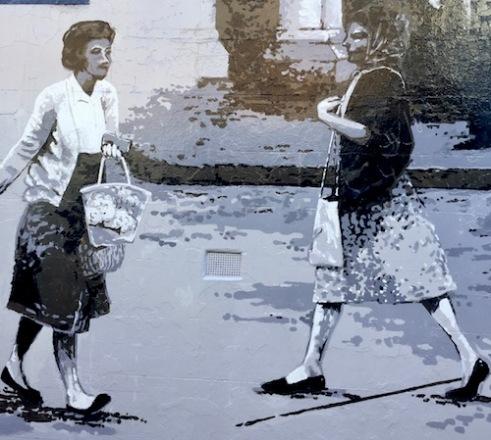 Kelly Wallwork mural