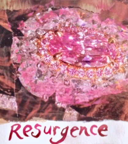 resurgence collage paintage Swain
