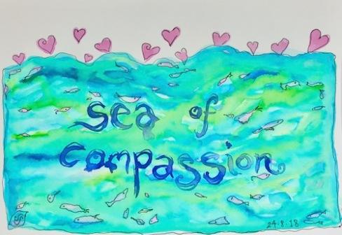 compassion sea art creativity