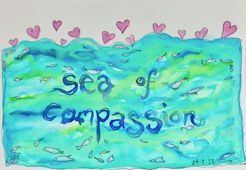 compassion sea art creativity