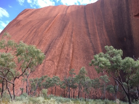 Uluru shape form