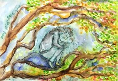 grief tree art Swain