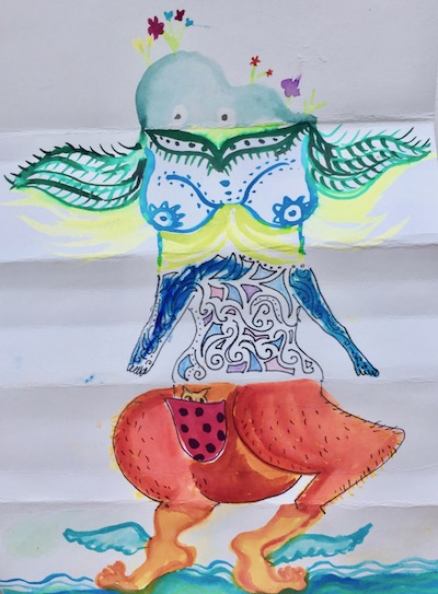 odd creatures group art play